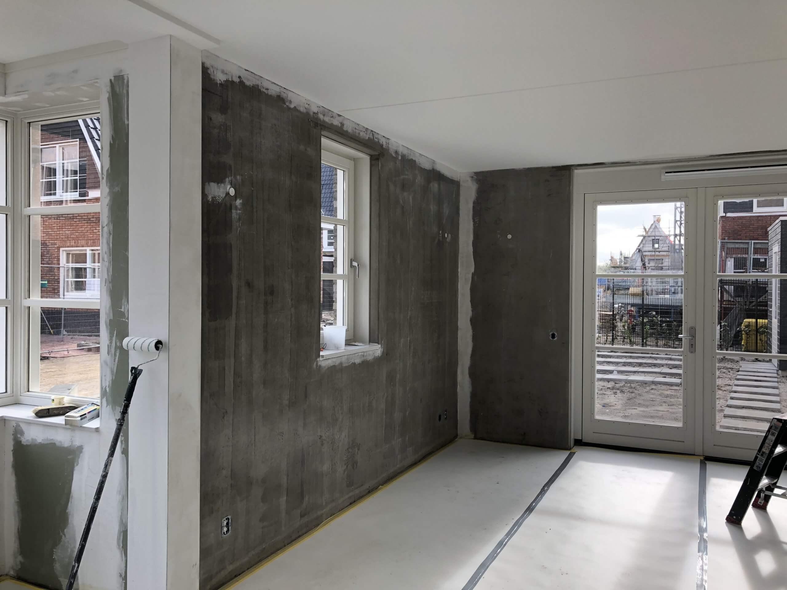 Binnenschilderwerk Nieuwbouw Renovlies Wanden Alphen aan den rijn